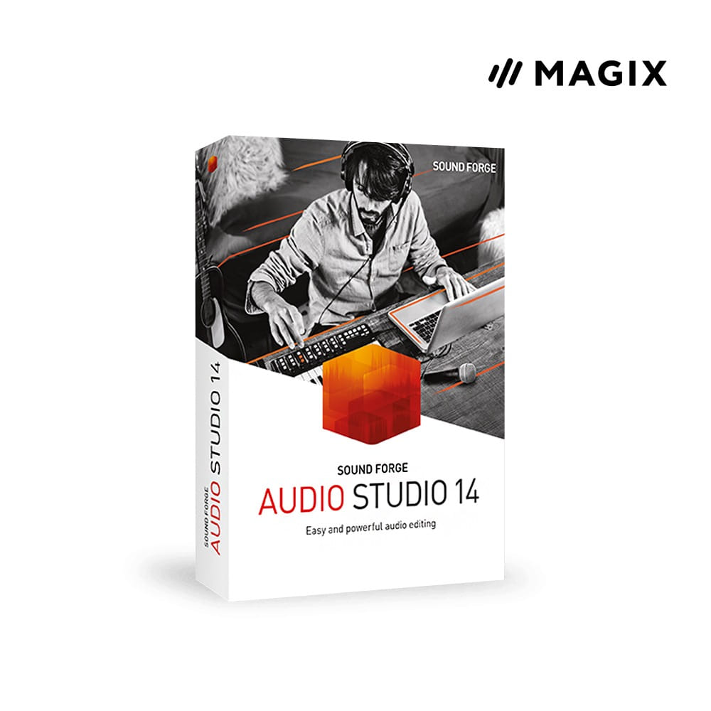 [Magix] SOUND FORGE Audio Studio 14