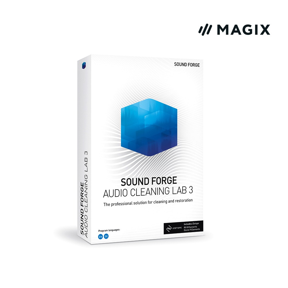 [Magix] SOUND FORGE Audio Cleaning Lab3