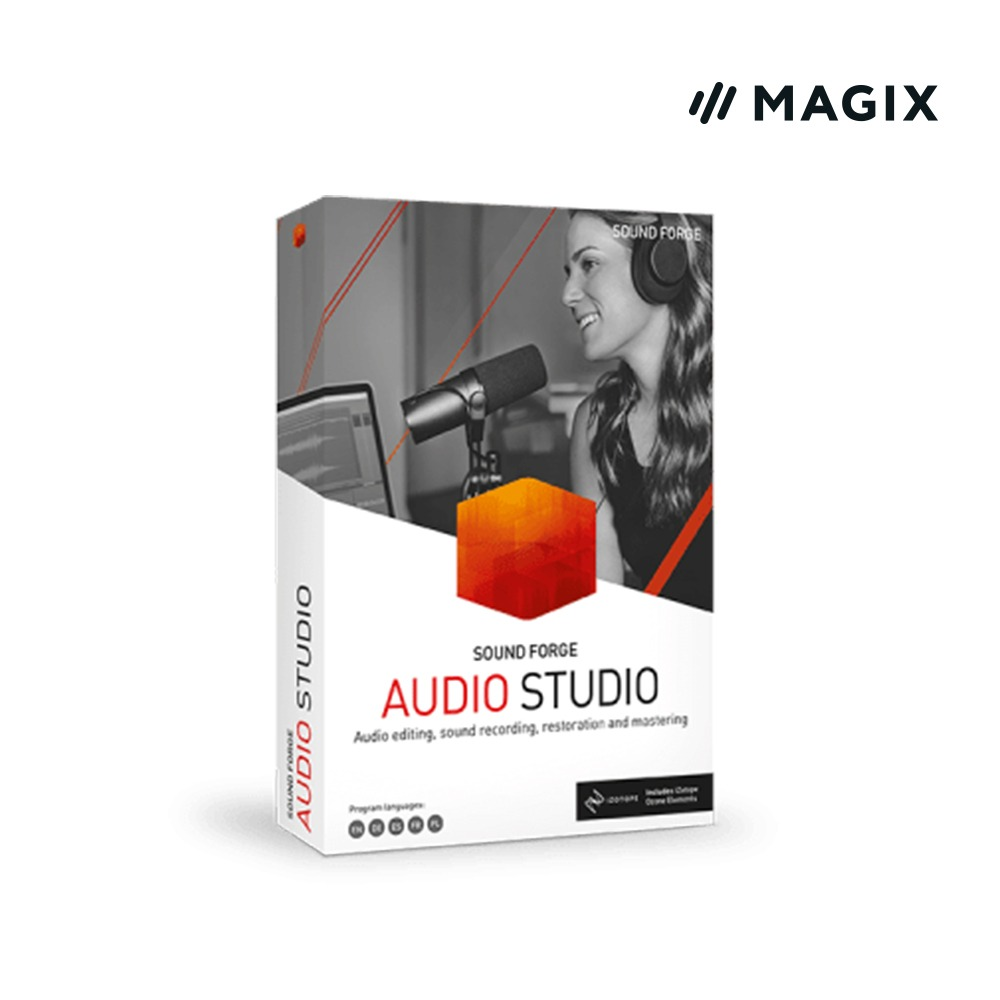 [Magix] SOUND FORGE Audio Studio 15