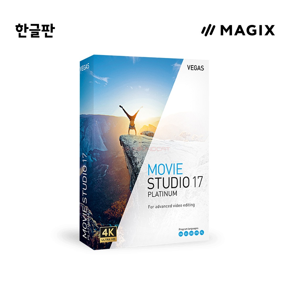 [Magix] VEGAS Movie Studio17 Platinum